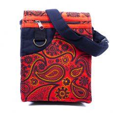 Taška na doklady BORA, kanvas, ruční výroba Nepál  NT0041-04-013