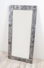 Zrcadlo s dřevěným dekorativním rámem, ruční práce  ID1600902-01
