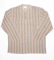 Pánská košile s dlouhým rukávem Nepál  NT0009-03-007
