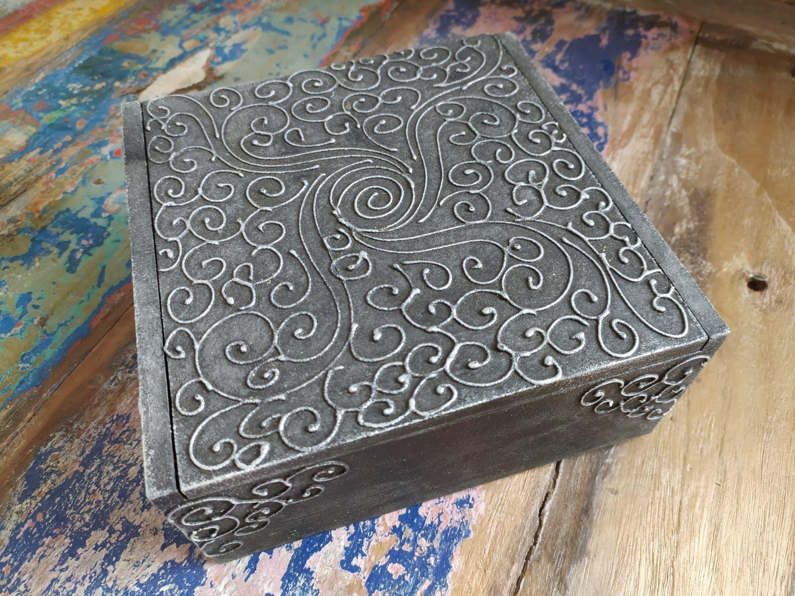 Krabička na drobnosti SPIRALIS L (šperkovnice) - ID1703303-03
