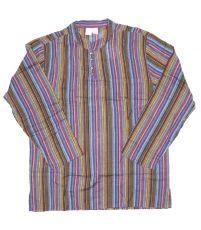 Pánská košile s dlouhým rukávem Nepál  NT0009-03-008