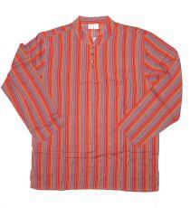 Pánská košile s dlouhým rukávem Nepál  NT0009-03-010