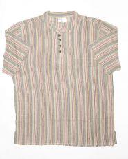 Pánská košile s krátkým rukávem Nepál  NT0009-02-018