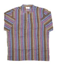 Pánská košile s krátkým rukávem Nepál  NT0009-02-015