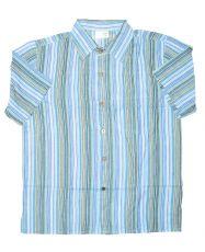 Pánská košile s krátkým rukávem  NT0009-008