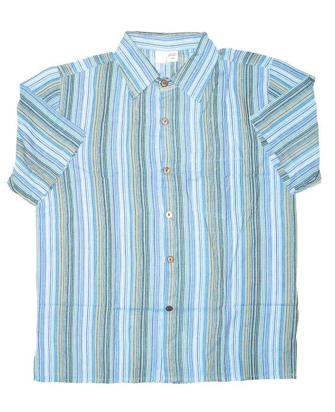 Pánská košile s krátkým rukávem NT0009-008 KENAVI