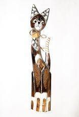 Soška KOČKA  82 cm, Indonésie  ID1603004-02