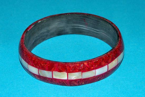Náramek – kombinace perleť a resin IS0010 003