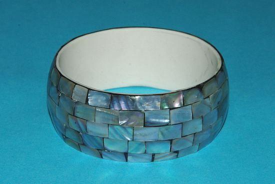 Náramek – kombinace perleť a resin IS0010 009
