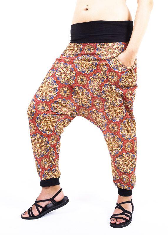 Dámské letní turecké kalhoty AKIRO TT0042 01 008
