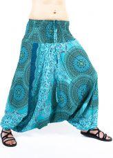 Kalhoty turecké harémové ORIGIN viskóza Thajsko TT0043-220