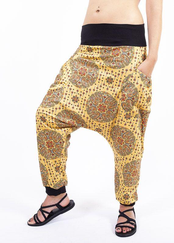 Dámské letní turecké kalhoty AKIRO TT0042 01 009