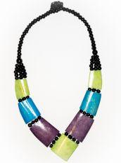 Dřevěný náhrdelník BONE  IS0042-01-027