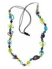 Dřevěný náhrdelník RETRO  IS0042-01-020