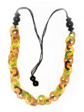 Dřevěný náhrdelník RETRO  IS0042-01-021