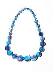 Dřevěný náhrdelník TWO TONES IS0042-02-001