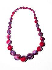 Dřevěný náhrdelník TWO TONES IS0042-02-002