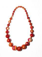 Dřevěný náhrdelník TWO TONES IS0042-02-004