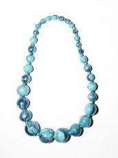 Dřevěný náhrdelník TWO TONES IS0042-02-003