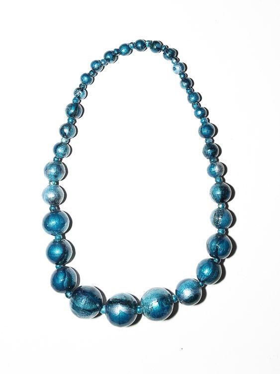 Dřevěný náhrdelník TWO TONES - IS0042-02-006