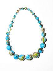 Dřevěný náhrdelník TWO TONES IS0042-02-007