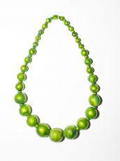 Dřevěný náhrdelník TWO TONES IS0042-02-008