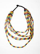 Dřevěný náhrdelník TWO TONES IS0042-02-009