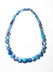Dřevěný náhrdelník TWO TONES IS0042-02-012