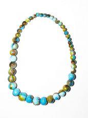Dřevěný náhrdelník TWO TONES IS0042-02-013