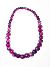 Dřevěný náhrdelník TWO TONES IS0042-02-015