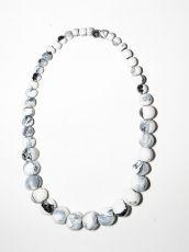 Dřevěný náhrdelník TWO TONES IS0042-02-016