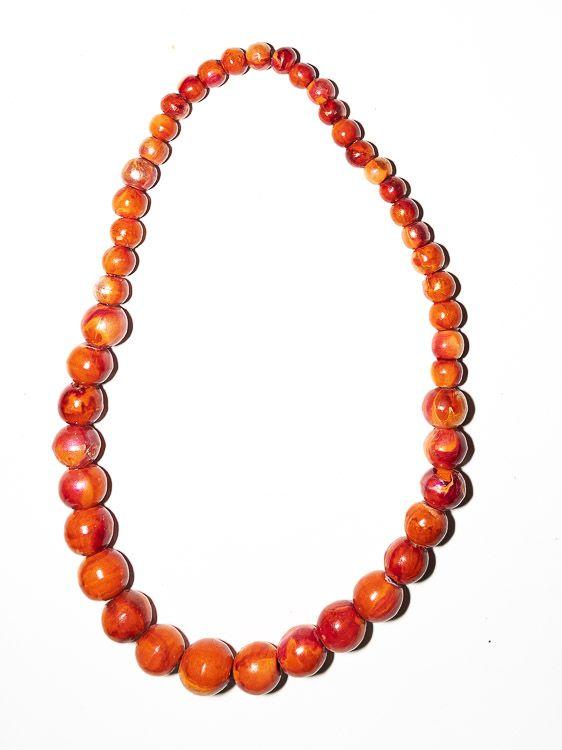 Dřevěný náhrdelník TWO TONES - IS0042-02-018