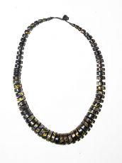 Dřevěný náhrdelník TWO TONES IS0042-02-019