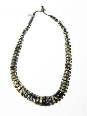 Dřevěný náhrdelník TWO TONES IS0042-02-021
