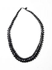 Dřevěný náhrdelník TWO TONES IS0042-02-022