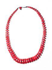 Dřevěný náhrdelník TWO TONES IS0042-02-023