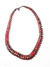 Dřevěný náhrdelník TWO TONES IS0042-02-024