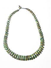 Dřevěný náhrdelník TWO TONES IS0042-02-026