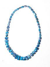Dřevěný náhrdelník TWO TONES IS0042-02-027