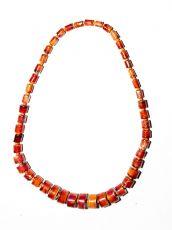 Dřevěný náhrdelník TWO TONES IS0042-02-028