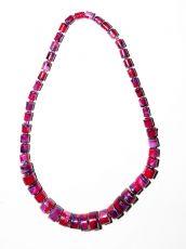 Dřevěný náhrdelník TWO TONES IS0042-02-029