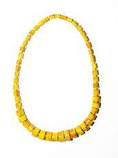 Dřevěný náhrdelník TWO TONES IS0042-02-030