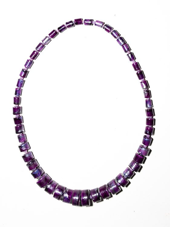 Dřevěný náhrdelník TWO TONES - IS0042-02-032