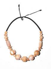 Dřevěný náhrdelník TWO TONES IS0042-02-034