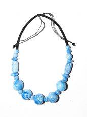 Dřevěný náhrdelník TWO TONES IS0042-02-035