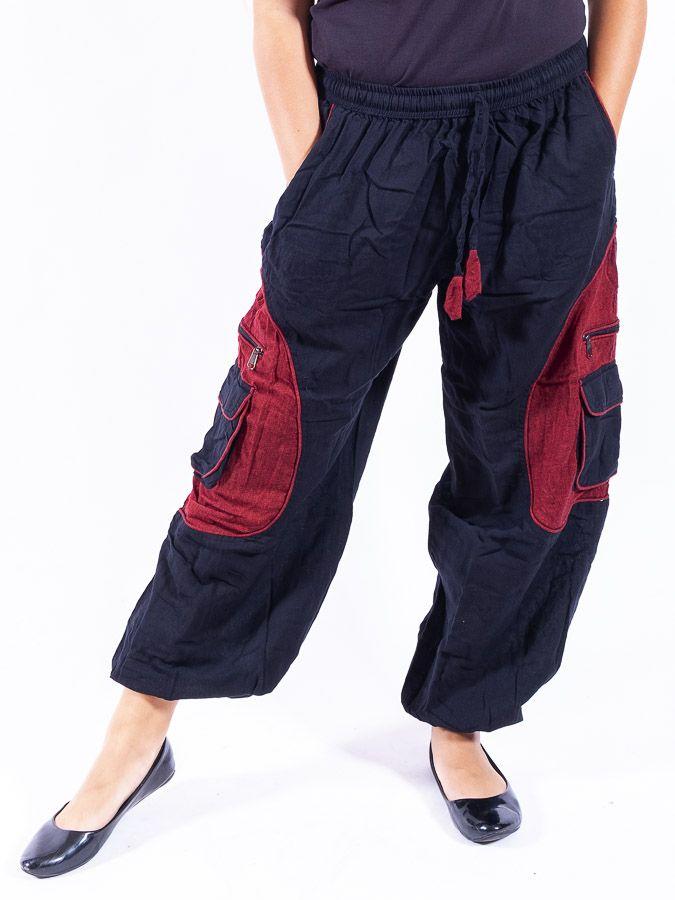 Kalhoty TEARS (unisex), měkčená letní bavlna NT0053 35 001 KENAVI