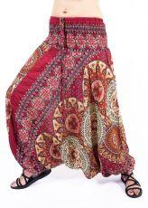 Kalhoty turecké harémové ORIGIN viskóza Thajsko TT0043-216