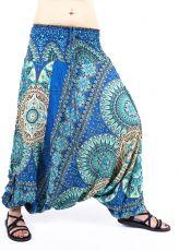 Kalhoty turecké harémové ORIGIN viskóza Thajsko TT0043-225