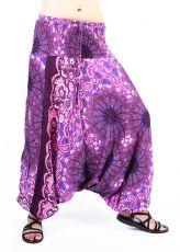 Kalhoty turecké harémové ORIGIN viskóza Thajsko TT0043-226