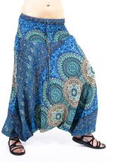 Kalhoty turecké harémové ORIGIN viskóza Thajsko TT0043-227